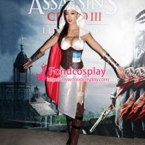 Women Assassin Creed Dress Cosplay Costume Tailor-Made[G846]