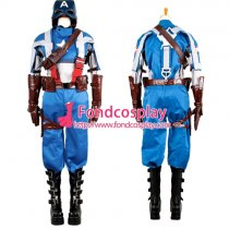Captain America Steve Rogers Outfit Jacket Coat Cosplay Costume Tailor-Made[G1328]