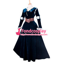 Cartoon Movie Brave Princess Merida Dress Cosplay Costume Custom-Made[G835]