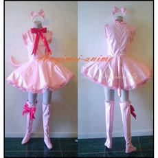 Cardcaptor Sakura Kinomoto Sakura Pvc Dress Cosplay Costume Tailor-Made[CK1206]