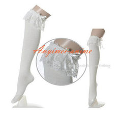 Gothic Lolita Punk Fashion Stocking Cosplay Costume Custom-Made[CK1060]