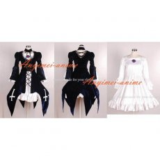 Rozen Maiden Mercury Lampe Dress Cosplay Costume Tailor-Made[CK023]