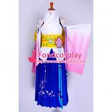 Final Fantasy Ffx 2 Yuna Sommer Dress Cosplay Costume Custom-Made[G727]