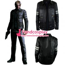Resident Evil Damnation Leon S Kennedy Jacket Coat Movie Cosplay Costume[CK1447]
