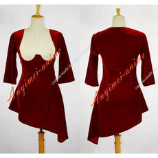 O Dress The Story Of O Velvet Dress Cosplay Costume Tailor-Made[G612]