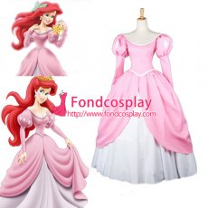 Beautiful Mermaid Princess Ariel Dress Movie Cosplay Costume Custom-Made[G656]