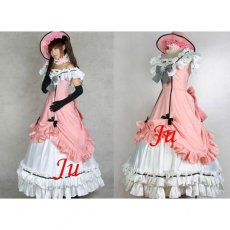Kuroshitsuji Black Butler Ciel Phantomhive Dress Cosplay Costume Tailor-Made[CK553]