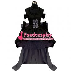 Chobits-Freya Chobits Dark Chii Dress Cosplay Costume Tailor-Made[G442]