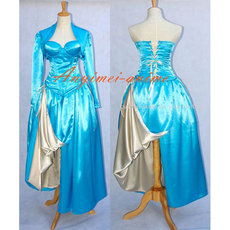 Sexy O Dress The Story Of O With Bra Satin Dress Cosplay Costume Custom-Made[G603]