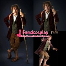 The Hobbit-Desolation Of Smaug-Bilbo Costume Cosplay Tailor-Made[G1288]