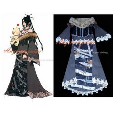 Final Fantasy-Ffx-10 Lulu Outfit Dress Game Cosplay Costume Tailor-Made[G297]
