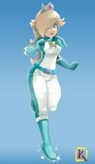 heavy PVC Princess Rosalina's race suit[002]