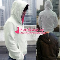 Assassin Creed Iii Desmond Miles Hoodie Jacket Coat Cosplay Costume Custom-Made[G812]