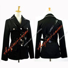 Gothic Lolita The Military Uniform Soldier Jacket Coat Cosplay Costume Tailor-Made[G673]