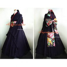 Japan Kimono Gothic Lolita Punk Fashion Dress Cosplay Costume Tailor-Made[CK1008]