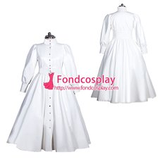 French Sissy Maid Pvc Dress Uniform Cosplay Costume Tailor-made[G3966]