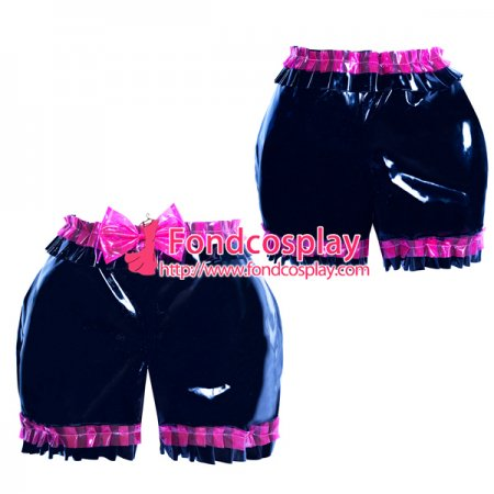 French heavy PVC sissy maid bloomers/knickers/ unisex Tailor-made[G3903]
