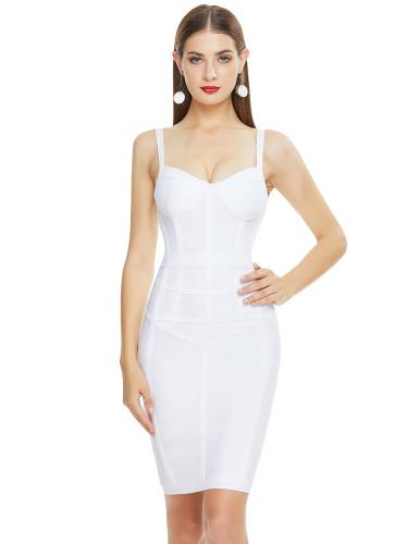 Woman Fashion Summer Sexy Bandage Dress And sleeveless dress