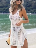 Summer Mesh Hollow Out Beach Dress