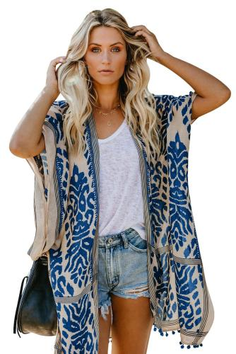 Light Sun-Proof Fringe Beach Cover-Up Shawls