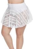 Mesh Crochet Lace Skirted Bikini Bottom