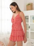 2020 Summer Floral Slip Women Maxi Dress