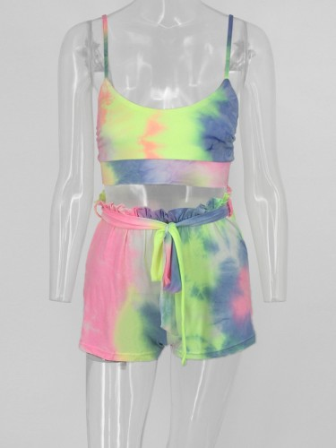 Colorful Summer New Style Slip Loungewear Sets