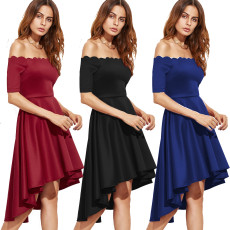 3 color Skater Dresses