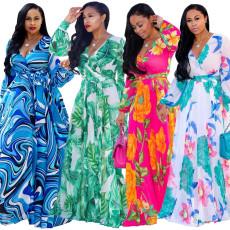 Plus Size Gown Long Dress