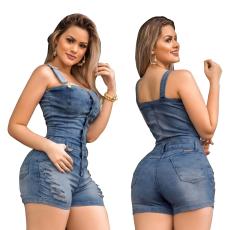 Jeans Jumpsuit shorts