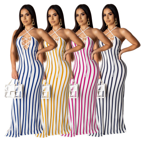 Sexy Fashion Summer Strap Dresses