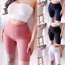 Fashion tight pants in solid color