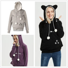 Upgraded version of large pocket long sleeve Hoodie