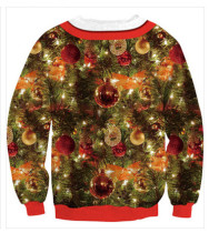 Christmas 3D Digital Printed Round-neck Guard Clothes