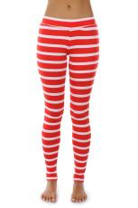 Polyester glossy cloth has thin legs Leggings