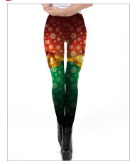 3-D Digital Printing Leggings