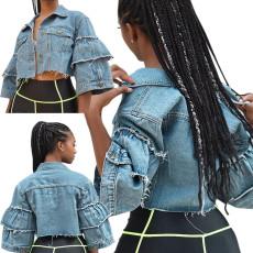 Fashion women's jeans jacket