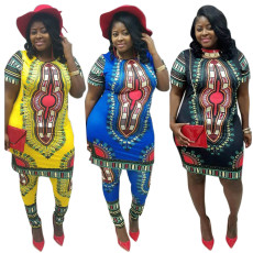 Sexy fashion national style loose dress