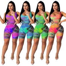 Printed Jumpsuit pants