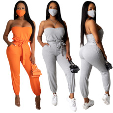 Sexy solid color bra suit (including mask)