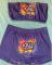 Sexy print chest wrap Shorts Set Yoga Pants Set
