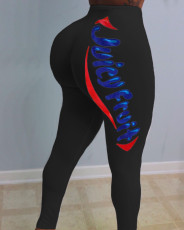 Sexy tights print pants Yoga Pants