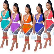 Casual sports sexy Jumpsuit