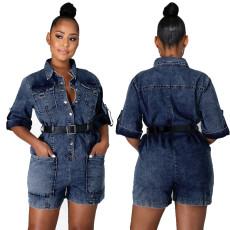 Sexy fashion jeans Jumpsuit