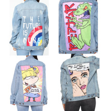 Sexy fashion denim jacket