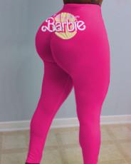 Sexy women's tights print pants Yoga Pants