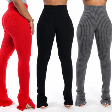 Casual fashion super elastic pants