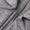 Deep V vest cardigan sweater medium length coat
