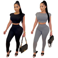 Casual and fashionable light mature sports suit