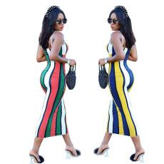 Fashion printed sexy dress